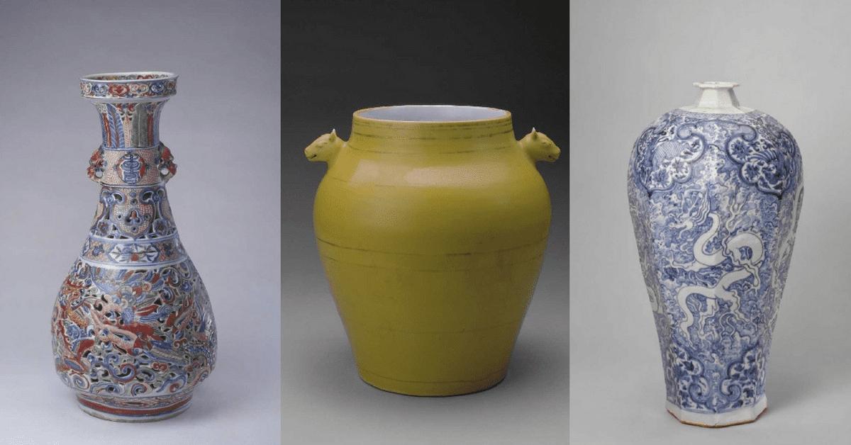 Кераміка династії Юань та династії Мін