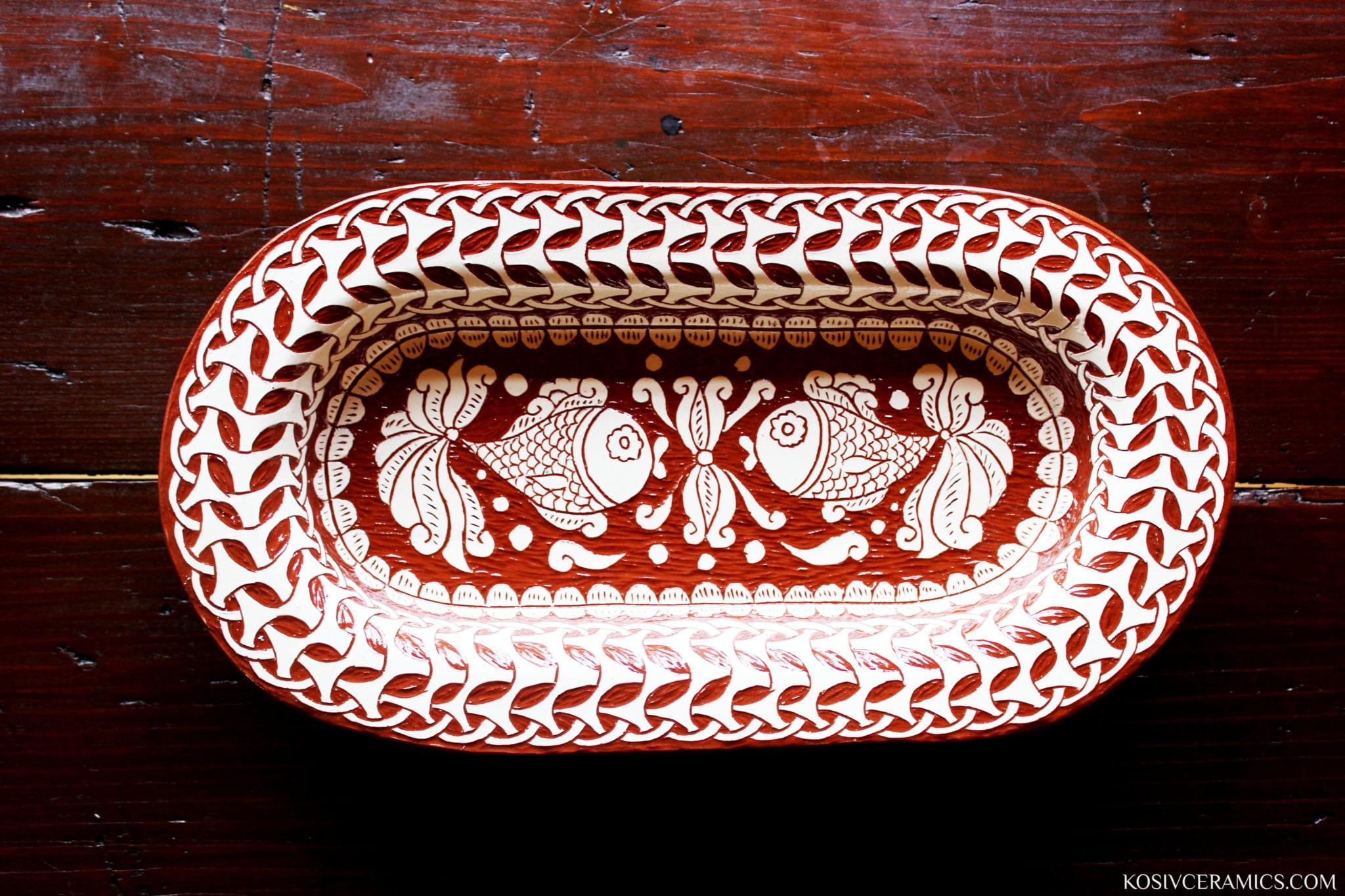 тарілка, кераміка, ручна робота, кераміка ручної роботи, троць, косівська кераміка, гуцульська кераміка, кераміка троць, kosiv ceramics, sgraffito, ceramics